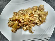 Deftige Kartoffelpfanne mit Feta und Ei - Rezept - Bild Nr. 4553