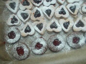 Rezept: Süßes - Gefüllte Plätzchen