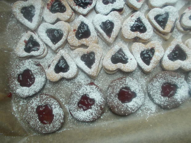 Süßes - Gefüllte Plätzchen - Rezept - Bild Nr. 4553