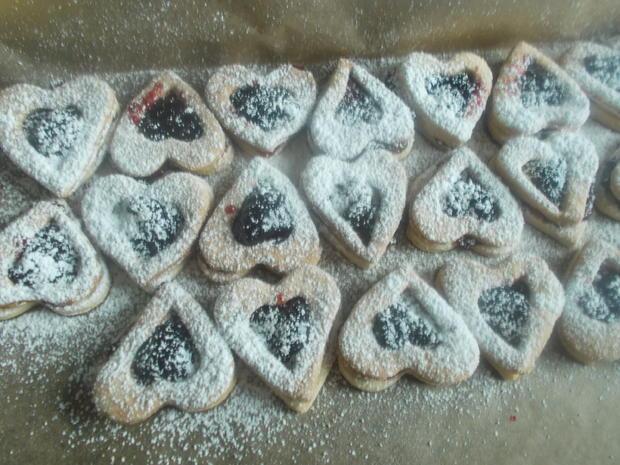 Süßes - Gefüllte Plätzchen - Rezept - Bild Nr. 4557