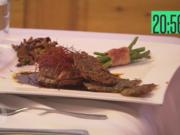 Tournedo vom Rinderfilet mit frischen Pfifferlingen, Kartoffelrösti, Prinzessbohnen - Rezept - Bild Nr. 4553