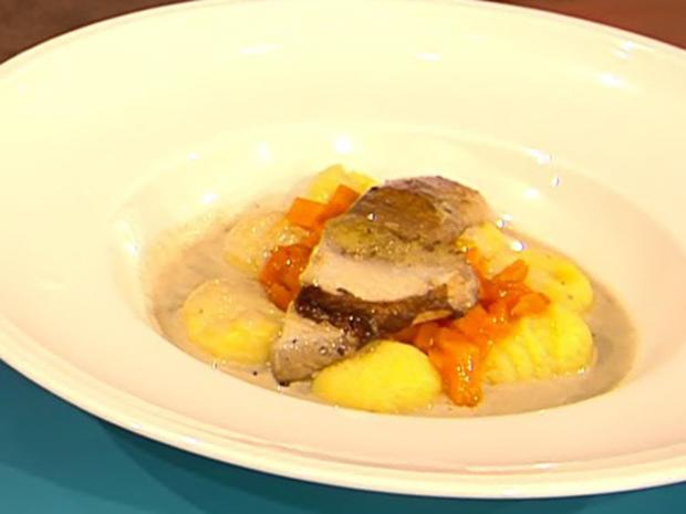 Kartoffelgnocchi mit Steinpilzen und Hokkaido (Blick in Nelsons Topf) - Rezept - Bild Nr. 2