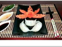 Gedämpfte Dumplings mit Schweinehack Füllung - Rezept - Bild Nr. 4576