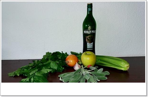 Cremige Staudensellerie-Salbei-Suppe - Rezept - Bild Nr. 4581