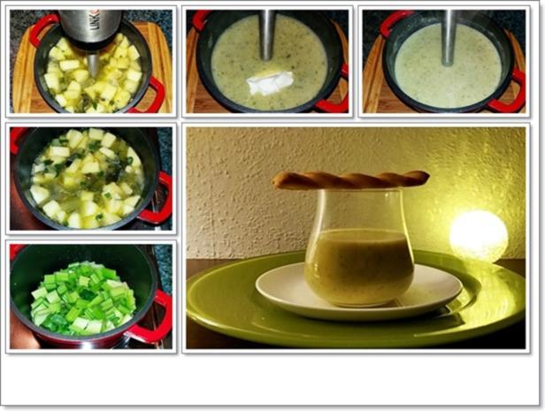 Cremige Staudensellerie-Salbei-Suppe - Rezept - Bild Nr. 4600
