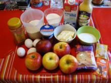 Apfel Mandel Kuchen mit Eierlikör - Rezept - Bild Nr. 2