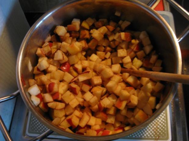 Apfel Mandel Kuchen mit Eierlikör - Rezept - Bild Nr. 3