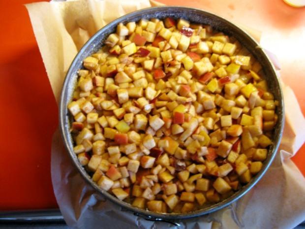Apfel Mandel Kuchen mit Eierlikör - Rezept - Bild Nr. 9