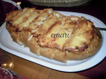 Lasagne im knusprigen Brot - Rezept - Bild Nr. 4589