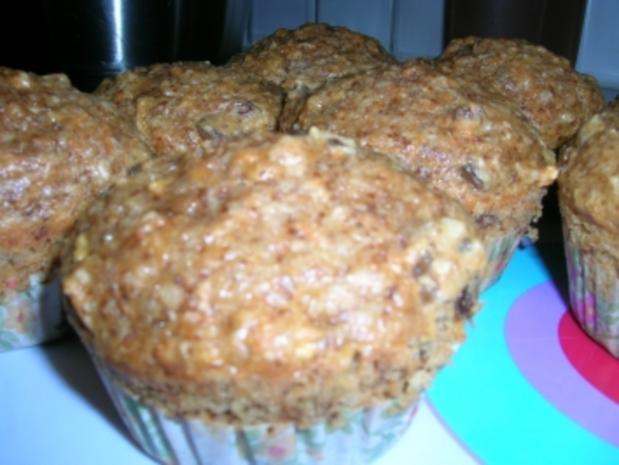 Karotten-Apfel-Muffins - Rezept
