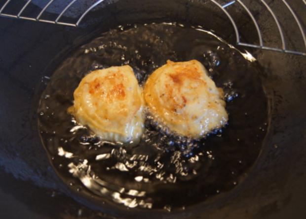 Gebratene Nudeln mit Ei, Gemüsestreifen und gebackenen Hähnchenbrustfilet - Rezept - Bild Nr. 4610