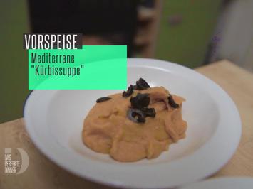 Rezept: Mediterrane Kürbissuppe mit selbst gemachtem Ciabatta