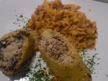 Kartoffel-Rouladen mit Paprika-Rahm-Spitzkohl - Rezept - Bild Nr. 4628