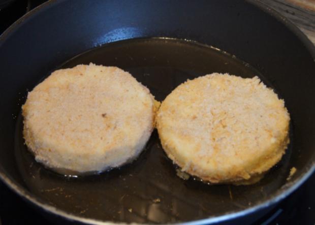 Sellerie-Cordon-bleu mit Süßkartoffelstampf - Rezept - Bild Nr. 4653