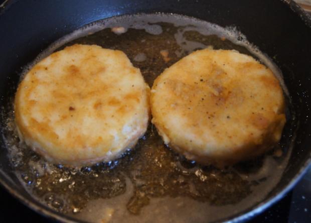 Sellerie-Cordon-bleu mit Süßkartoffelstampf - Rezept - Bild Nr. 4654