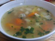Hühnersuppe mit Gemüseeinlage - Rezept - Bild Nr. 4645