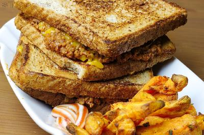 Rezept: Sloppy Joe – Knuspriges Sandwich mit Hack & Cheddar