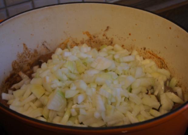 Rindergulasch ( Suppe )  mit Gemüsemix, Brokkoli und Kartoffeln - Rezept - Bild Nr. 4714