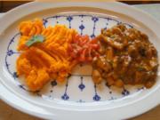 Hähnchenbrustfilet-Curry mit Möhrenpüree - Rezept - Bild Nr. 4709
