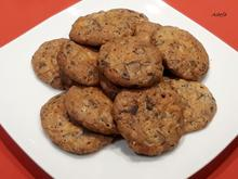 Weihnachtliche Schoko - Mandel - Cookies - Rezept - Bild Nr. 4709