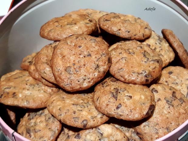 Weihnachtliche Schoko - Mandel - Cookies - Rezept - Bild Nr. 4715