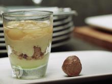 Weinschaummousse mit Cantuccini und Traubenkompott - Rezept - Bild Nr. 4709