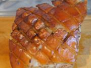 Schweinekrustenbraten auf Prager Art mit Sauce - Rezept - Bild Nr. 4724