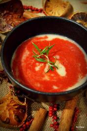 Creme-Suppe Schneeweißchen und Rosenrot - Rezept - Bild Nr. 4724