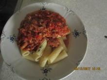 Tortiglioni mit Thunfisch - Rezept - Bild Nr. 4724