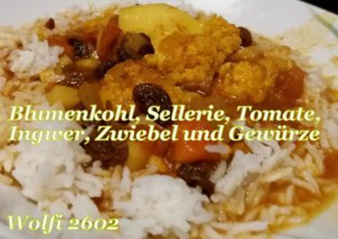 Rezept: Indischer Blumenkohl-Topf