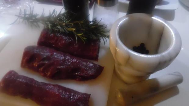 Reh-Filet mit Portwein-Schokoladen-Soße - Rezept - Bild Nr. 4743