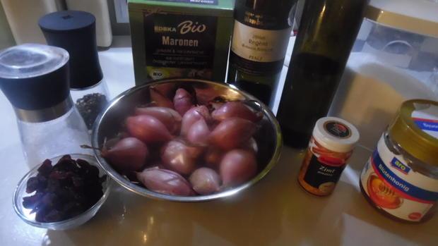 Reh-Filet mit Portwein-Schokoladen-Soße - Rezept - Bild Nr. 4748