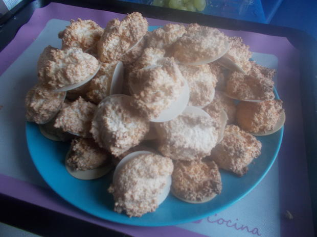 Süßes - Amarula-Kokos-Makronen - Rezept - Bild Nr. 4732