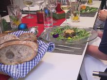 Zweierlei von der bayerischen Garnele an Wildkräutersalat - Rezept - Bild Nr. 2