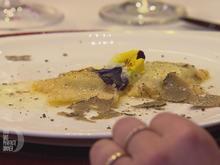 Ravioli mit Trüffelfüllung in gebräunter Butter und gehobeltem Trüffel - Rezept - Bild Nr. 2
