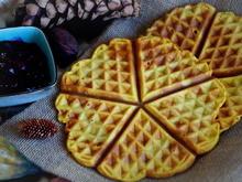 Frühstück: Kürbis-Waffeln - Rezept - Bild Nr. 4813