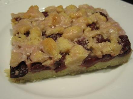 Backen: Karamell-Kirsch-Kuchen mit Karamellstreusel - Rezept - Bild Nr. 4737