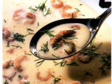 Käsesuppe mit Krabben - Rezept - Bild Nr. 4739