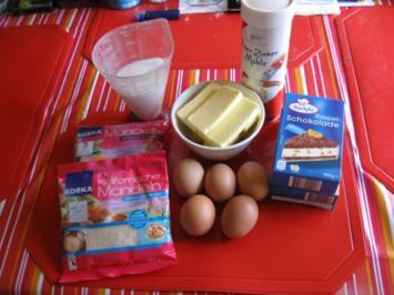 Mandel Kuchen mit Schoko - Rezept - Bild Nr. 2