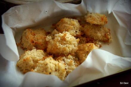 Weihnachtsplätzchen: Kokosmakronen mit Ahornsirup - Rezept - Bild Nr. 2