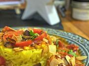 Chicken Tikka Masala in Mandel-Paprika-Rahm - Rezept - Bild Nr. 4776
