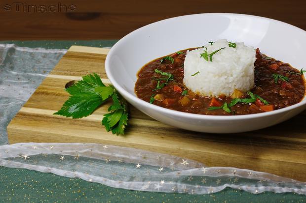 Linsen-Chili sin Carne - Rezept - Bild Nr. 3