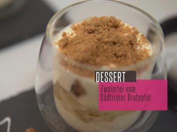 Rezept: Bratapfel-Tiramisu und Apfelstrudel-Törtchen