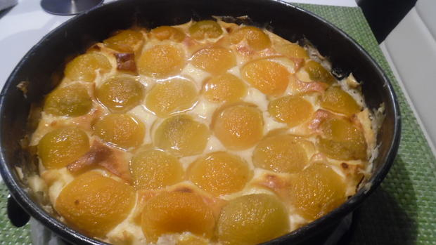 Käsekuchen ohne Boden mit Aprikosen - Rezept - Bild Nr. 4