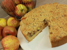 Apfelkuchen mit Zimtstreusel - Rezept - Bild Nr. 4782