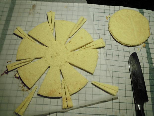 Trüffel Kuppel Torte mit Ferrero Rocher und gebrannten Mandeln - Rezept - Bild Nr. 4817