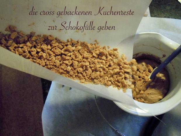 Trüffel Kuppel Torte mit Ferrero Rocher und gebrannten Mandeln - Rezept - Bild Nr. 4812