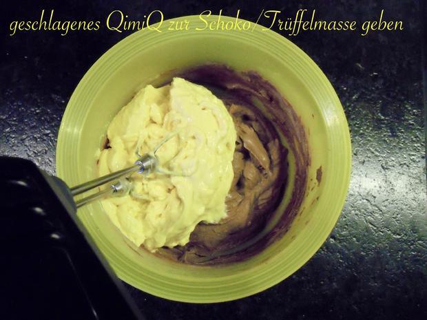 Trüffel Kuppel Torte mit Ferrero Rocher und gebrannten Mandeln - Rezept - Bild Nr. 4844