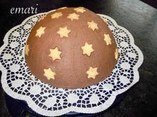 Trüffel Kuppel Torte mit Ferrero Rocher und gebrannten Mandeln - Rezept - Bild Nr. 4818