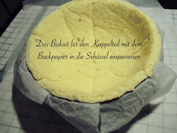 Trüffel Kuppel Torte mit Ferrero Rocher und gebrannten Mandeln - Rezept - Bild Nr. 4847